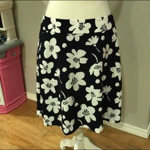 Ann Taylor Flower Skirt